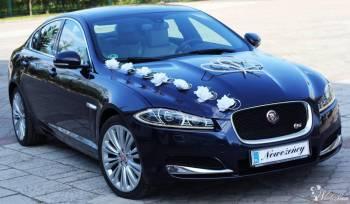 Auto do ślubu luksusowy Jaguar XF, Mercedes S, BMW M750, Samochód, auto do ślubu, limuzyna Kruszwica