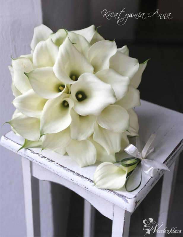 Florystyka ślubna, Kompozycje kwiatowe, Dekoracje, Konin - zdjęcie 1