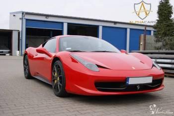 Lamborghini, Ferrari, GT-R, Porsche, Jaguar - Alphacars, Samochód, auto do ślubu, limuzyna Syców
