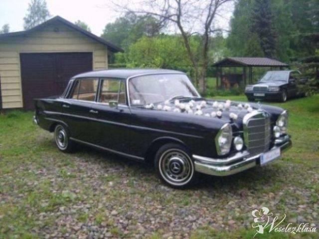Zabytkowy Mercedes W111 do ślubu Retro Oldtimer, Halinów - zdjęcie 1
