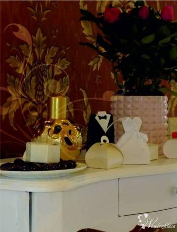 Podziękowanie dla gości i rodziców Coco de mer, Artykuły ślubne Błażowa
