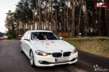 ** PIĘKNE EKSKLUZYWNE BMW F30 DO ŚLUBU , Samochód, auto do ślubu, limuzyna Nasielsk