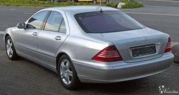 Mercedes S-klasa W220 Piękna limuzyna do ślubu., Samochód, auto do ślubu, limuzyna Gniewkowo