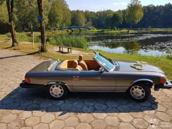 Mercedes SL380 kabriolet , udanewesela, Samochód, auto do ślubu, limuzyna Tarnowskie Góry