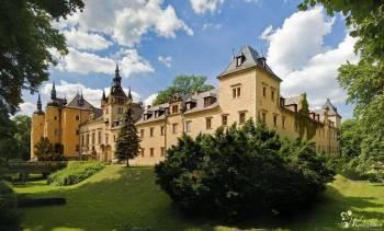 Zamek Kliczków, Sale weselne Leśna