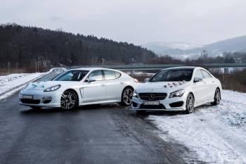 Mercedes CLA AMG | Porsche Panamera auto samochód do ślubu PROMOCJA!, Samochód, auto do ślubu, limuzyna Wadowice