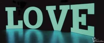 LITERY LOVE napis, Napis Love Myślenice