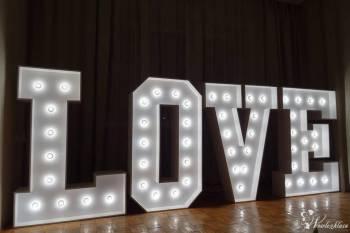 Napis LOVE , Napis Love Olszyna