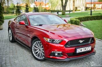 MUSTANG GT zawieziemy luksusowo wynajem luksusowych aut do ślub, Samochód, auto do ślubu, limuzyna Oborniki Śląskie