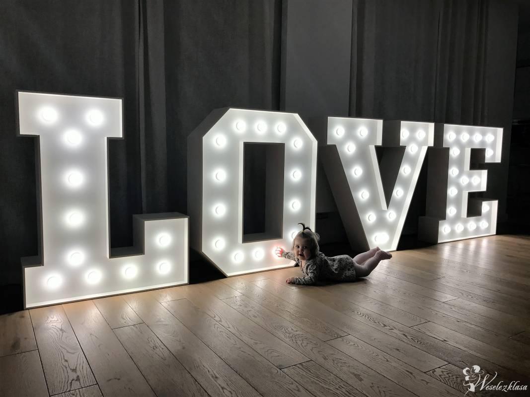 Litery 3D ,napis LOVE retro Mrs&Mr;, you&me;,wesele, ślub,wynajem,auta, Wrocław - zdjęcie 1