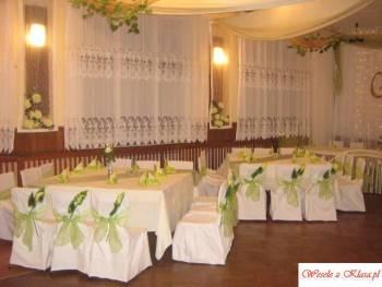 dekoracje,wesele,ślub,kościół,, Dekoracje ślubne Wąsosz