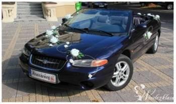 Kabriolet na Twój Ślub - prestiż i elegancja!, Samochód, auto do ślubu, limuzyna Kępno