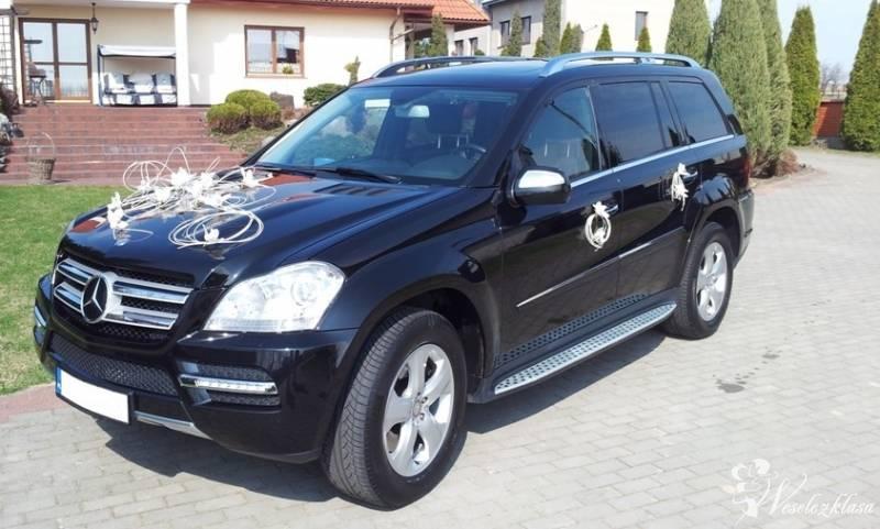 Samochód do ślubu. Mercedes GL450 czarny, Płock - zdjęcie 1