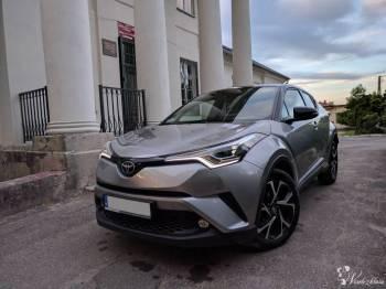 Toyota C-HR na ślub , Samochód, auto do ślubu, limuzyna Toruń