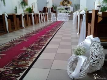 Wiązanki ślubne, dekoracje kościołów, samochodów, Dekoracje ślubne Pionki