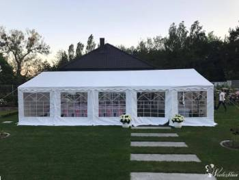 Namiot weselny/plenerowy/imprezowy - namioty wynajem na każdą okazję, Wypożyczalnia namiotów Cedynia