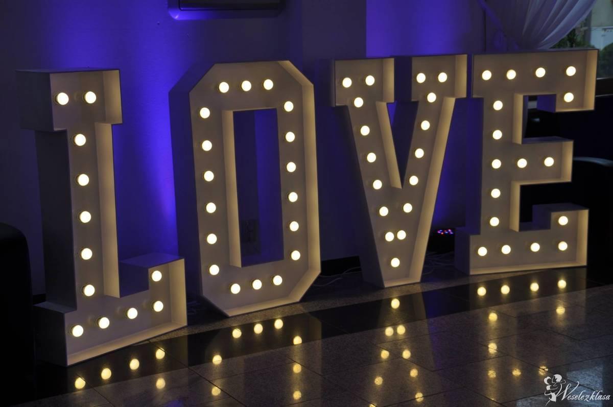 Napis LOVE; Party-Exper, Tyszowce - zdjęcie 1