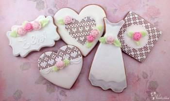 Sweetlandia - pierniczki ślubne, podziękowania dla gości, słodki stół, Słodki kącik na weselu Sieniawa