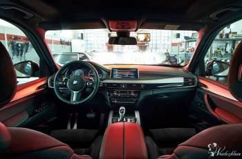 Kolor *Biały* BMW *x5* M pakiet *czarne* dodatki  , Samochód, auto do ślubu, limuzyna Rajgród
