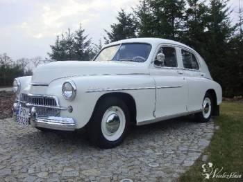 *Warszawa* M20 - auto do Ślubu!, Samochód, auto do ślubu, limuzyna Mosina