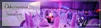 Dekorowanie światłem sal bankietowych, Dekoracje ślubne Sobótka
