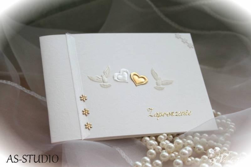 Piękne, ręcznie wykonywane zaproszenia ślubne, Bielsko-Biała - zdjęcie 1