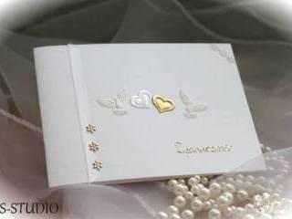 Piękne, ręcznie wykonywane zaproszenia ślubne, Zaproszenia ślubne Miasteczko Śląskie