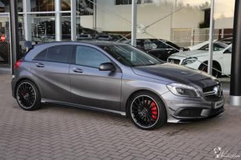 WYNAJMĘ Mercedesa A45 AMG!! Nietuzinkowe, szybkie i śliczne auto., Samochód, auto do ślubu, limuzyna Proszowice