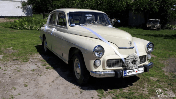 *Warszawa* FSO 1968 rok, Samochód, auto do ślubu, limuzyna Zakroczym