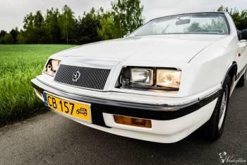 Kabrioletem na Ślub- zabytkowy Chrysler LeBaron Convertible, perła!, Samochód, auto do ślubu, limuzyna Bydgoszcz