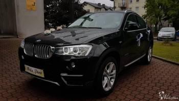 Samochód do Ślubu  BMW X4 X-LINE, Samochód, auto do ślubu, limuzyna Radlin