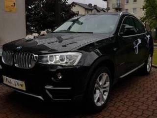 Samochód do Ślubu  BMW X4 X-LINE,  Katowice