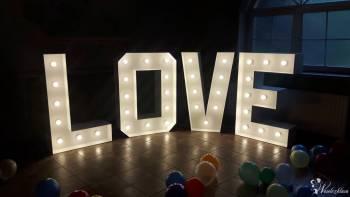 Największy na Podkarpaciu  PODŚWIETLANY  NAPIS  LOVE  3D, Napis Love Nowa Dęba