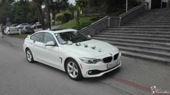 *Białe* BMW do ślubu z kierowcą wystrój GRATIS Woj, Samochód, auto do ślubu, limuzyna Lubaczów