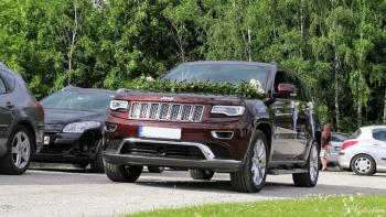 Duży i luksusowy SUV - Jeep Grand Cherokee, Samochód, auto do ślubu, limuzyna Pobiedziska