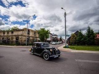 Stylowy Austin Six z 1936r.,  Białystok