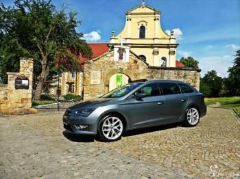 Seat Leon ST FR w hiszpańskim stylu szklany dach,  DCC, Samochód, auto do ślubu, limuzyna Wrocław