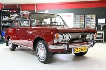 Zrób to w starym stylu, Fiat 125p 73', Samochód, auto do ślubu, limuzyna Zielona Góra