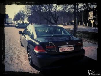BMW E65 740D Exclusive Automobil, Samochód, auto do ślubu, limuzyna Kleszczele
