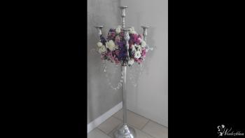 Kandelabry świeczniki pięcioramienne  100 cm, Dekoracje ślubne Nowa Ruda
