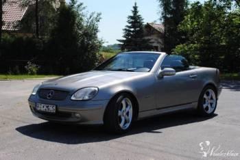 Mercedes SLK, Samochód, auto do ślubu, limuzyna Dynów