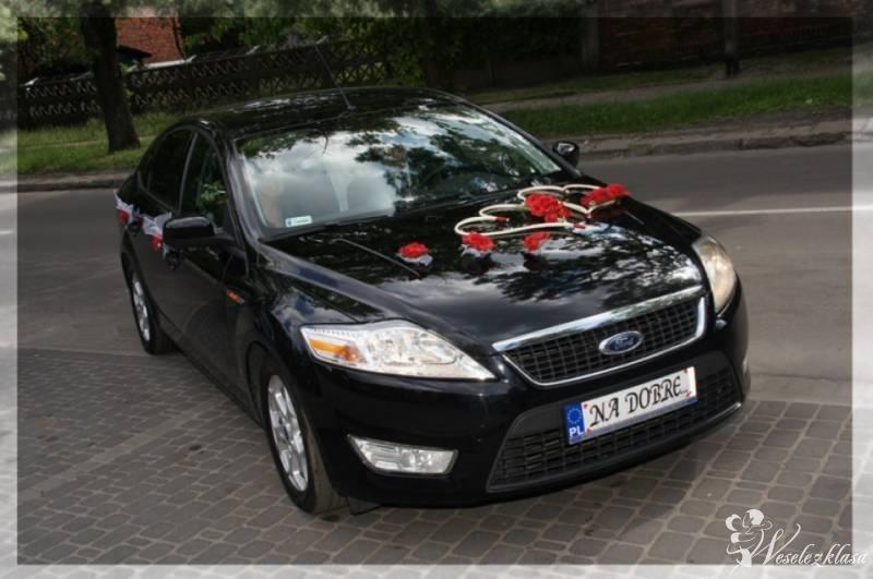 Auto do ślubu - czarny FORD Mondeo, Żyrardów - zdjęcie 1