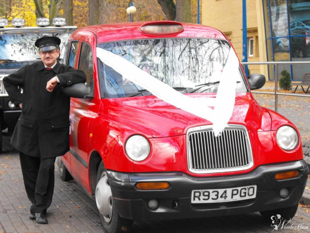 Auto do ślubu - London  Red Cab, Łęczyce - zdjęcie 1