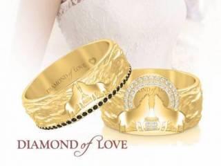 Firma jubilerska «DIAMOND of LOVE», Obrączki ślubne, biżuteria Elbląg