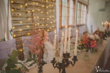 Dekoracje ślubne weselne okolicznościowe od A do Z dekoracja sali, Dekoracje ślubne Nowa Sól