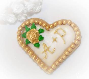 Podziękowania / pamiątki ślubne weselne ciasteczka, Słodki kącik na weselu Skępe