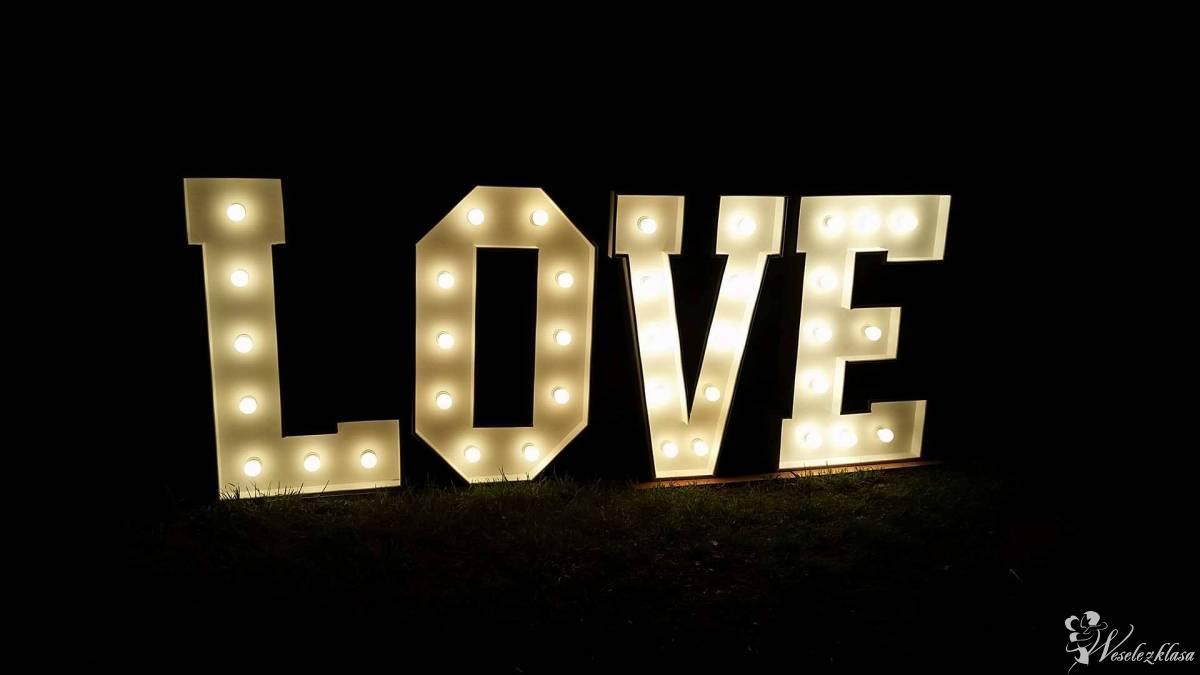 Podświetlany napis LOVE - dekoracja weselna, Przasnysz - zdjęcie 1