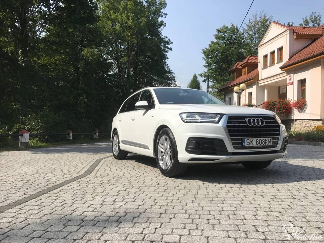 Audi Q7 Biały Carrara, Wisła - zdjęcie 1