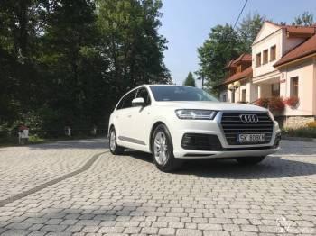 Audi Q7 Biały Carrara, Samochód, auto do ślubu, limuzyna Wisła