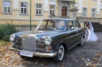 Mercedes retro Skrzydlak, zabytkowe auto do ślubu., Samochód, auto do ślubu, limuzyna Zawidów